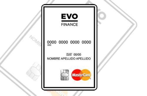 Tarjeta Evo Finance
